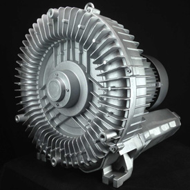 Atlantic Blowers Regenerative Blower AB-1100, 3 Phase, 1 Stage, 15 HP by