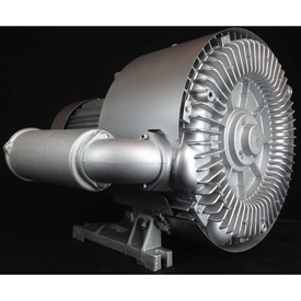 Atlantic Blowers Regenerative Blower AB-1102, 3 Phase, 2 Stage, 16.9 HP by