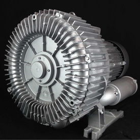 Atlantic Blowers Regenerative Blower AB-1402, 3 Phase, 2 Stage, 25 HP by