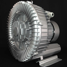 Atlantic Blowers Regenerative Blower AB-600, 3 Phase, 1 Stage, 5 HP by