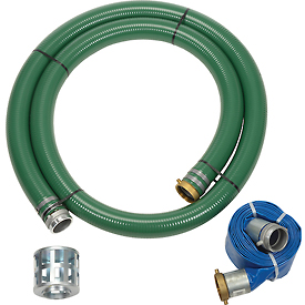 "Apache 98128662 3"" Trash Pump Hose Kits w/ Aluminum Couplings and Fittings by"