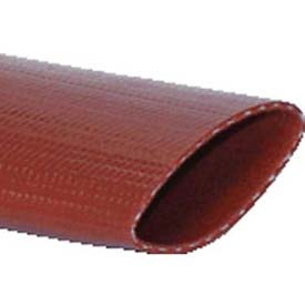 "1-1/2"" Medium Duty PVC Lay Flat Discharge Bulk Hose, 10 Feet"