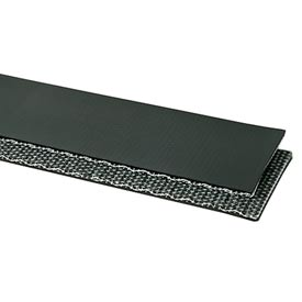 """PVC 150 Black Cover x Friction Surface, 30"""" Wide (per foot)"""