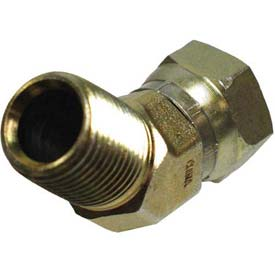 "Apache Hydraulic Adapter 39005550, 1/2"" Male Pipe X 1/2"" Female Pipe Swivel"