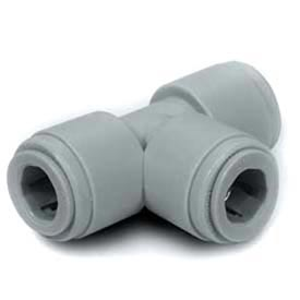 """1/4"""" Tee Union With 1/4"""" O.D. - Push-In Fitting - Pkg Qty 10"""