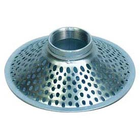 "1-1/2"" FNPT Top Hole Plated Steel Skimmer Strainer by"
