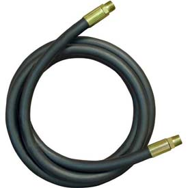 "Apache Hydraulic Hose Assembly 98398162, 100R2AT Cpld., 5000 PSI, 1/4"" MNPT, 1/4"" Hose ID X 36""L"