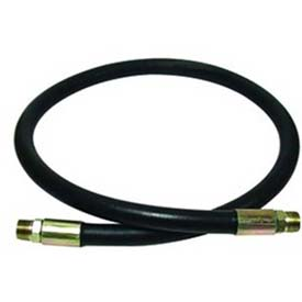 "Apache Hydraulic Hose Assembly 98398336, 100R2AT Cpld., 3500 PSI, 1/2"" MNPT, 1/2"" Hose ID X 120""L"