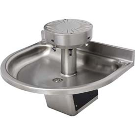 Acorn ADA Washfountain Semi-Circular, 3 Stations, Sensor Operated