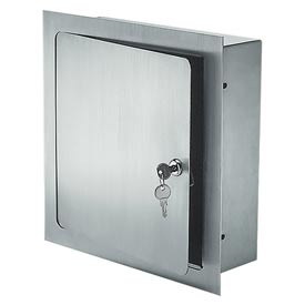 Recessed Valve Box Stainless - 8 x 8 x 4