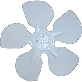 "Acme Miami Aluminum Fan Blade 30704-12 - 7"" Cw 1/4"" Bore - Pkg Qty 12"