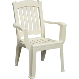 Brentwood Dining Chair, White Package Count 12 by