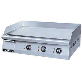 "Click here to buy Adcraft GRID-30 Griddle, Heavy Duty, Electric, 30""W, 208/240V."