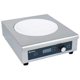 Adcraft IND-WOK120V Wok Induction Cooker, Manual Control, 120V by