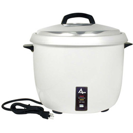Click here to buy Adcraft RC-0030 Rice Cooker, Premium, 30 Cup, 110-120V.