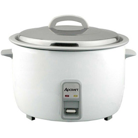 Click here to buy Adcraft RC-E25 Rice Cooker, Economy, 25 Cup, 120V.
