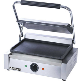 Adcraft SG-811E/F Panini Grill, w/Flat Plates, 120V by