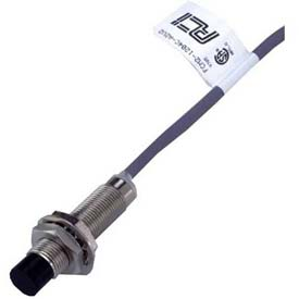 Advance Controls 104762, Proximity Sensor,12MM Tube,DC,10-30V,Brass,Shielded,Range 2MM,Wire 1,NPN