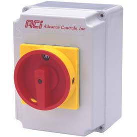 Advance Controls 107698, Enclosed 30 Amp Disconnect Switch, Non-Fused, Type 1 Metal Enclosure