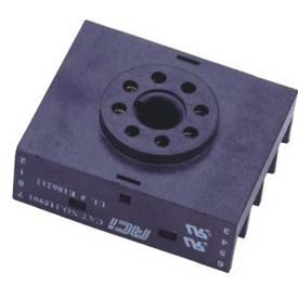 Advance Controls 115901 Timer Socket, 8 pin Octal Reverse Terminals for Panel Mount Timer by