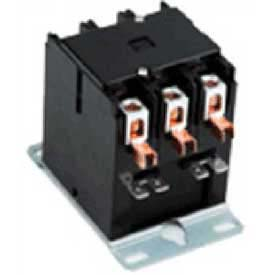 Advance Controls 135630, Definite Purpose Contactors, DPA Series, 20 Amp, 1 Pole, Coil 24VAC