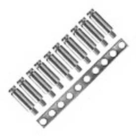 Advance Controls 140081, Multiple Jumper Hole Bar, U Series, Use w/Terminal Blocks, KUT 4, PSL2.5/10