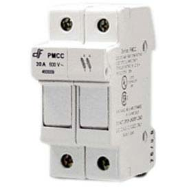 Advance Controls 152410 DIN Rail Fuse Holder (Midget), 2 Pole, Class CC Fuse, Indicator Light