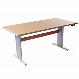 "Infinity™ Powered Height Adjustable Activity Table - 48""L x 30""W Maple"