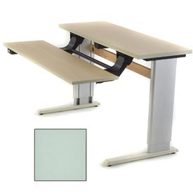 Infinity™ Powered Height Adjustable Bi-Level Workstation - Gray