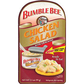 Bumble Bee Chicken Salad Kit, 3.5 Oz., 12 Count by