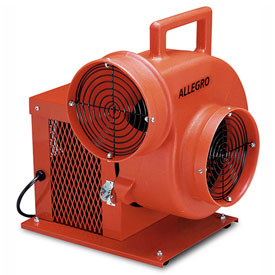 "Allegro Standard Electric Blower 9504, 8"" Dia., 1/3HP,1066 CFM, Cage Enclosed"