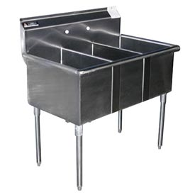 Premium SS Non-NSF Three Bowl Sink - 20 x 30