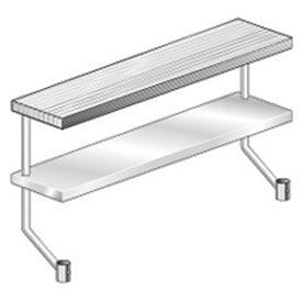"Aero Manufacturing APS-896 96""W x 8""D Adjustable Plate Shelf for Equipment Stand"