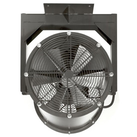 "Americraft 24"" TEFC Alum Propeller Fan W /  1 Way Swivel Yoke 24DA-1-1/21Y-1-TEFC-1-1/2 HP 8200 CFM"