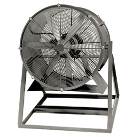 "Americraft 24"" TEFC Aluminum Propeller Fan With Medium Stand 24DA-1-1/2M-3-TEFC 1-1/2 HP 8200 CFM"