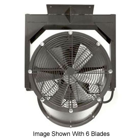"Americraft 24"" EXP Alum Propeller Fan W/ 1 Way Swivel Yoke 24DA-1/21Y-1-EXP-1/2 HP 6000 CFM"