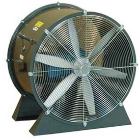 "Americraft 24"" TEFC Aluminum Propeller Fan With Low Stand 24DA-3L-3-TEFC 3 HP 10500 CFM"