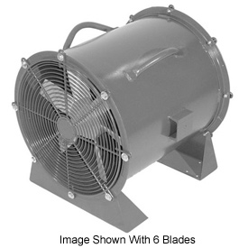 "Americraft 60"" TEFC Aluminum Propeller Fan With Low Stand 60DALL-10L-3-TEFC 10 HP 57200 CFM"