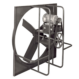 "54"" Industrial Duty Exhaust Fan - 3 Phase 3/4 HP"
