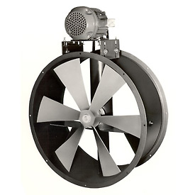 "30"" Totally Enclosed Dry Environment Duct Fan - 1 Phase 1-1/2 HP"