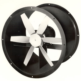 """12"""" Totally Enclosed Direct Drive Duct Fan - 1 Phase 3/4 HP"""
