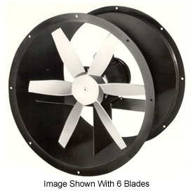 "24"" Totally Enclosed Direct Drive Duct Fan - 1 Phase 1/4 HP"