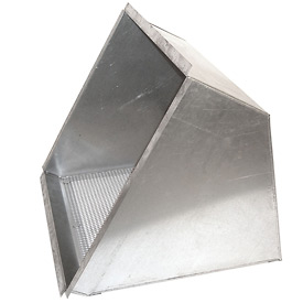 "Inlet Weatherhood With Birdscreen for 18"" Exhaust Fan"