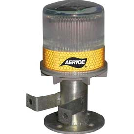 Solar Strobe/Signal Light - Yellow - Pkg Qty 4