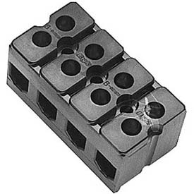 Terminal Block, 4 Pole, 600V, 85A, For Groen, 088214 by