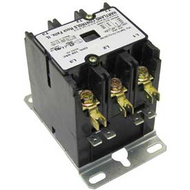 Contactor, 3 Pole, 30/40A, 120V, For Grindmaster, A514009 by