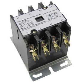 Contactor, 4 Pole, 30/40A, 208/240V, For Vulcan, 411497-D3
