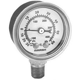 Compound Gauge 2-1/2, 30Vac-60 PSI For Groen, GRO084208 by