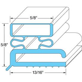 "Door Gasket 11-3/8"" x 23 3/8"" For Traulsen, TRA341-19775-03 by"