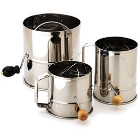 Alegacy 1250 - 1-1/2 Lb. Stainless Steel Flour Sifter